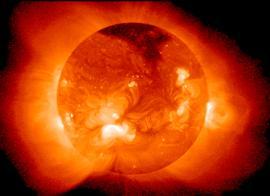Солнце в рентгеновских лучах