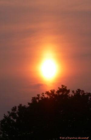 Корона восходящего Солнца