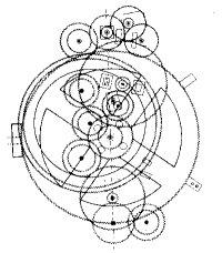 Схема древнего компьютера