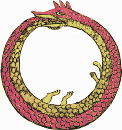 змей, поедающий сам себя