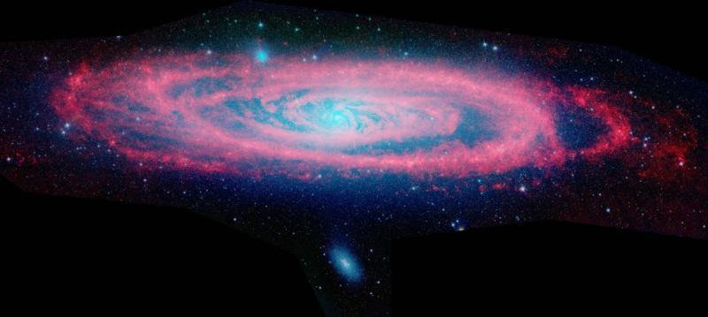 Инфракрасная Андромеда