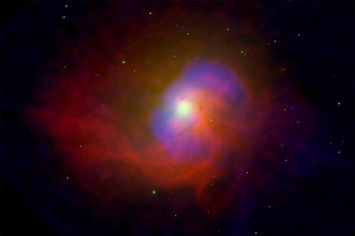 NGC 4696: энергия от черной дыры