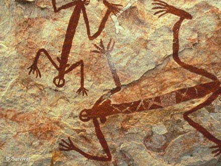 Наскальные рисунки аборигенов, Западная Арнема, Австралия