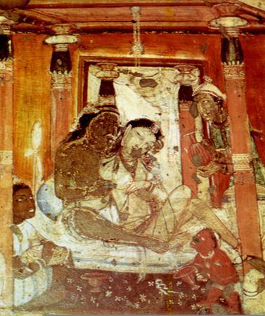 Живопись из пещер Аянты