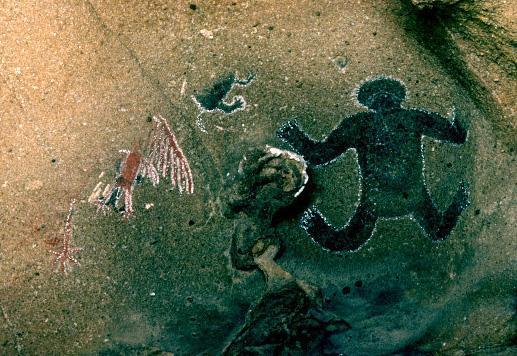 Древний человек. Фотография от Марка Оливера