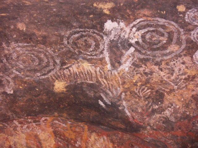 Наскальная живопись австралийских аборигенов