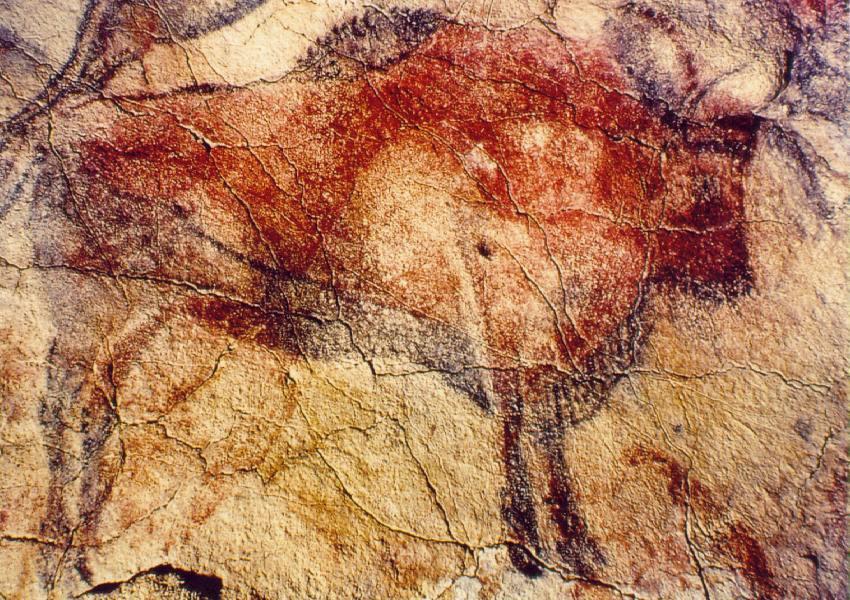 Бизон. 15000 лет до н.э.