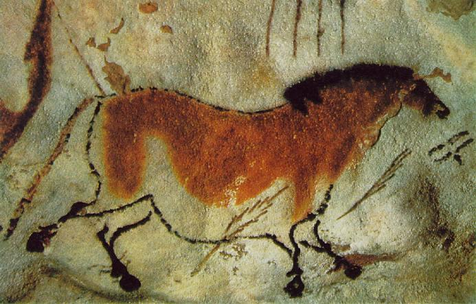 Лошадь. 15000 лет до н.э.