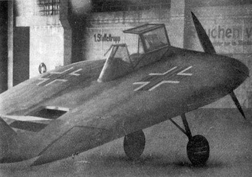 Необычный экпериментальный самолёт рейха