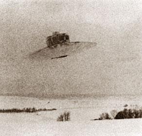 Испытание НЛО Рейха в зимних условиях