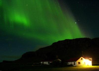 Полярное сияние над Смирлабйоргом в Исландии. Фото 4